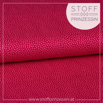 Webstoff Dotty pink