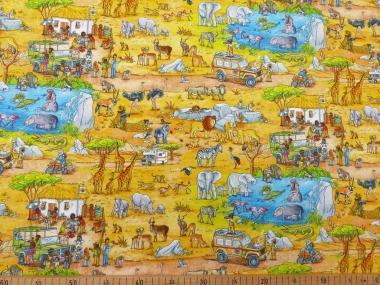Wimmelbuch - Safari