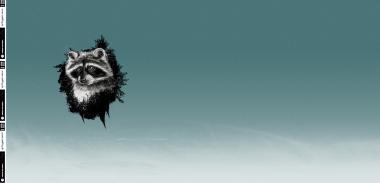 Sweat RAPPORT Wyld Forest Raccoon