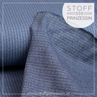 Knit Jersey dunkelblau