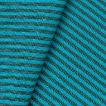 Striped Rib teal/turquoise
