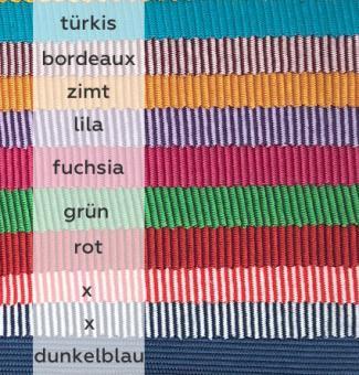 Striped Rib türkis