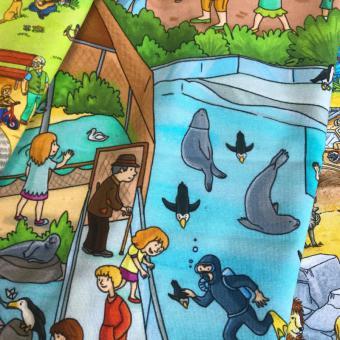 Wimmelbuch - Zoo